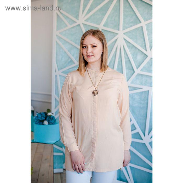 Блузка женская Vera Nicco, размер 50 (XL), рост 168 см, цвет кварц (арт. 1552 С+)