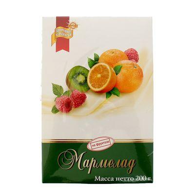 """Мармелад желейный """"Петродиет"""" на фруктозе картонная коробка 200 г"""
