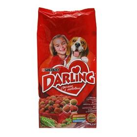 Сухой корм DARLING для собак, мясо/овощи 2,5 кг Ош