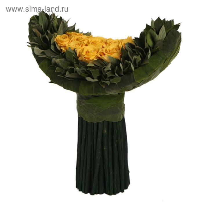"Декоративная композиция ""Курвед"", 30 х 16 х 28,5 см, желтый"