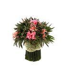 "Декоративная композиция ""Лаванда"" малая, 14 х 14 х 15 см, нежно-розовый"