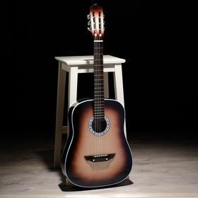 Гитара 6-струнная с увеличенным корпусом, акустическая