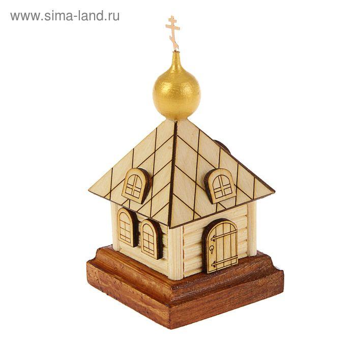 "Сувенир ""Часовня"" большой 60*60*120мм"