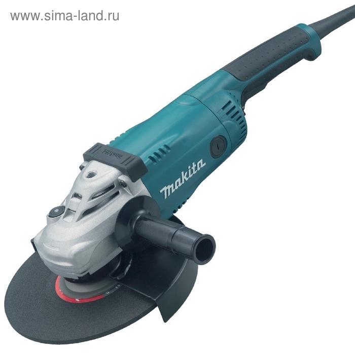 Углошлифовальная машина Makita GA9020SF 2200Вт 6600об/мин рез.шпин.:M14 d=230мм