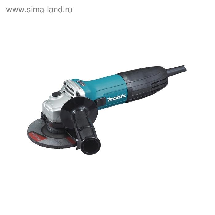 Углошлифовальная машина Makita GA5030 720Вт 11000об/мин рез.шпин.:M14 d=115/125мм