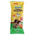 Батончики  амарантовые «Губка Боб» с   шоколадной начинкой, в глазури, 20 гр
