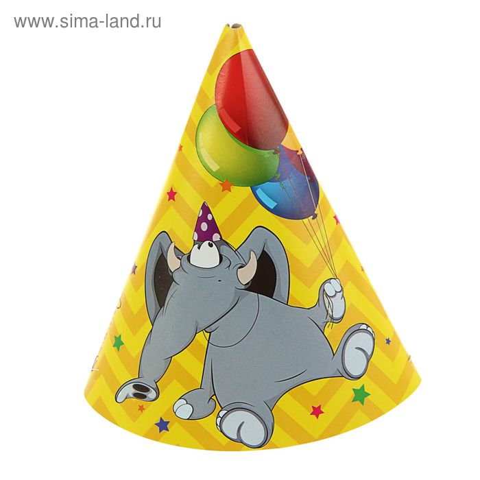 """Колпак """"Слон"""" 21 см 6 шт"""