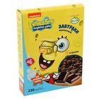 Завтраки   амарантовые «Губка Боб»  в  глазури, витаминизированные, 220 гр