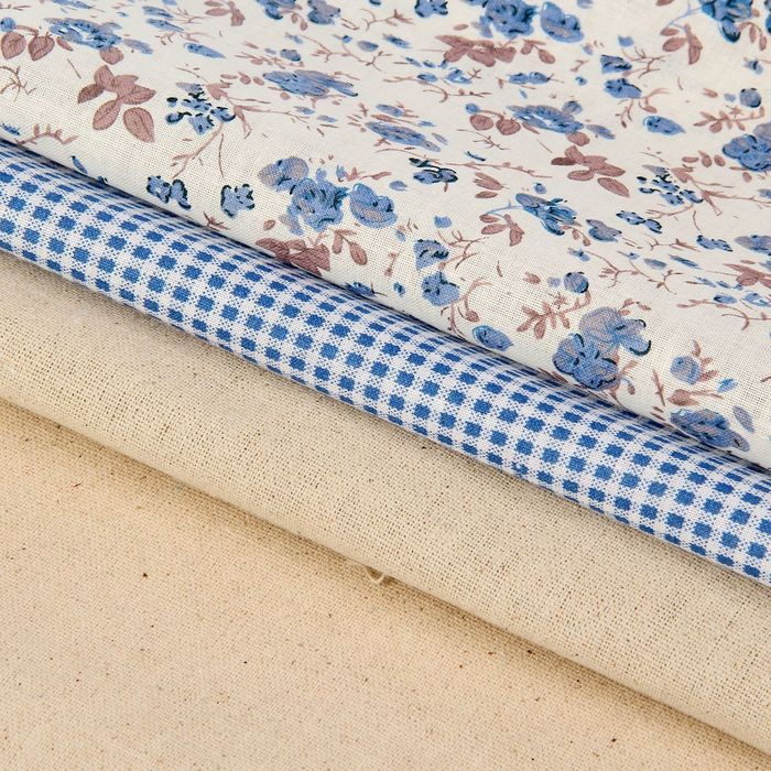 Набор ткани для пэчворка (3 шт) «Создай уют», 30 × 40 см