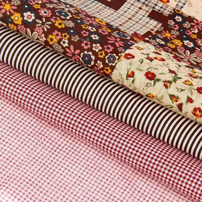 Набор ткани для пэчворка (3 шт.) «Лоскутный», 30 х 40 см