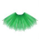 "Карнавальная юбка ""Блеск"", 3-х слойная 4-6 лет, цвет зеленый"