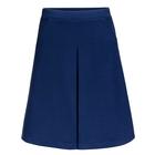 Юбка для девочек, рост 158-164 см, возраст 13 лет, цвет синий