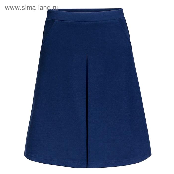 Юбка для девочек, рост 158-164 см, возраст 13 лет, цвет синий (арт. GS8030)