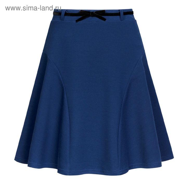Юбка для девочек, рост 164 см, возраст 14 лет, цвет синий (арт. GS8029)
