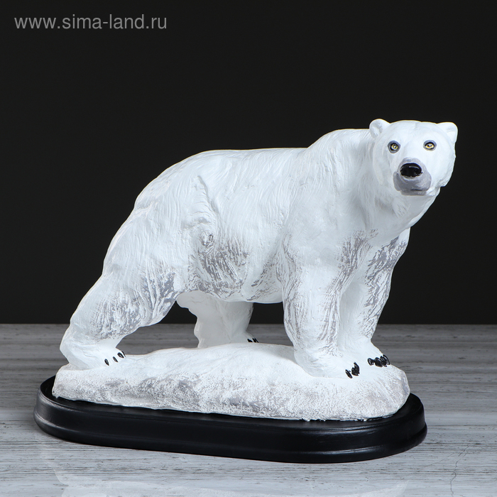 "Сувенир ""Медведь"" белый"
