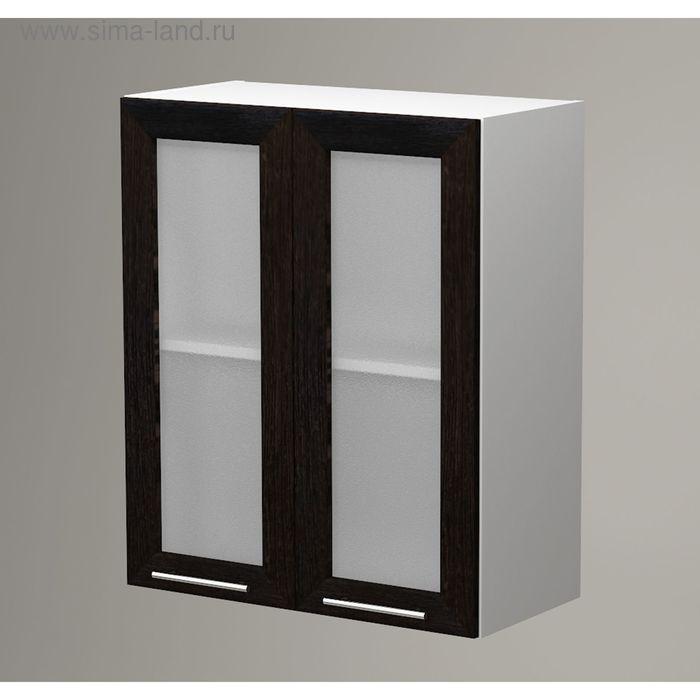 Шкаф навесной 720*600*300 Рамка Венге