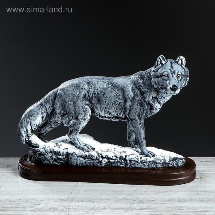 """Сувенир """"Волк на прогулке"""""""