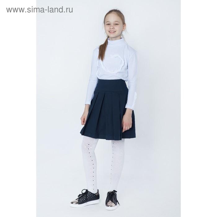 Юбка для девочек, рост 122-128 см, возраст 7 лет, цвет синий (арт. GWS7022)