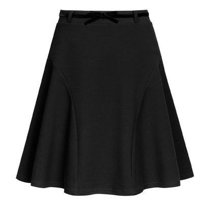 Юбка для девочек, рост 152-158 см возраст 12 лет, цвет чёрный