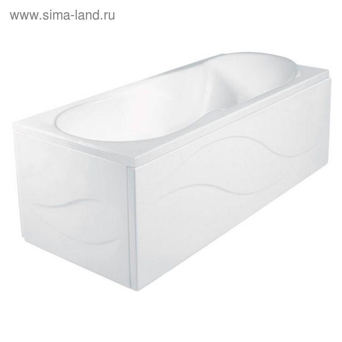 Акриловая ванна Jika Floreana 170х75 с монтажным комплектом и сифоном
