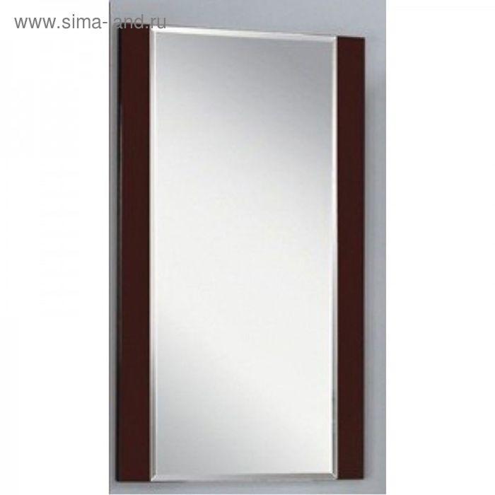 """Зеркало """"Ария 50"""", тёмно-коричневое, Акватон"""