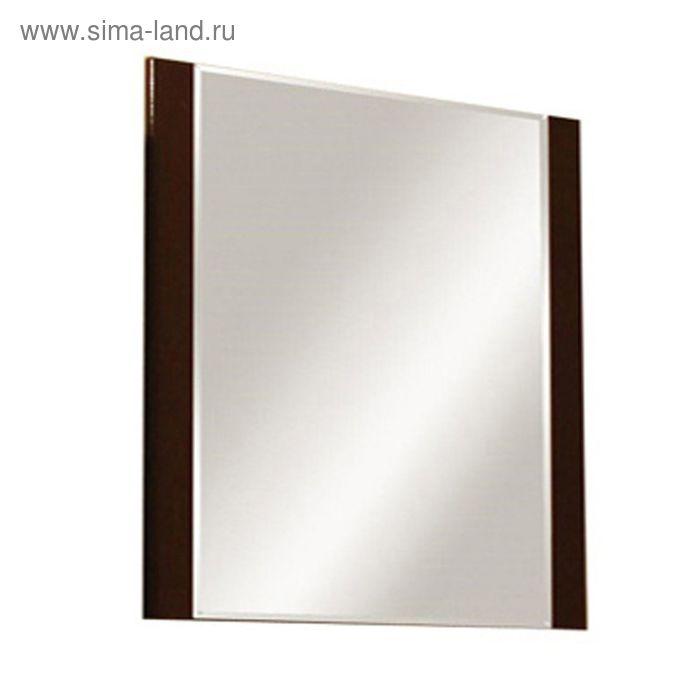 """Зеркало """"Ария 80"""", тёмно-коричневое, Акватон"""