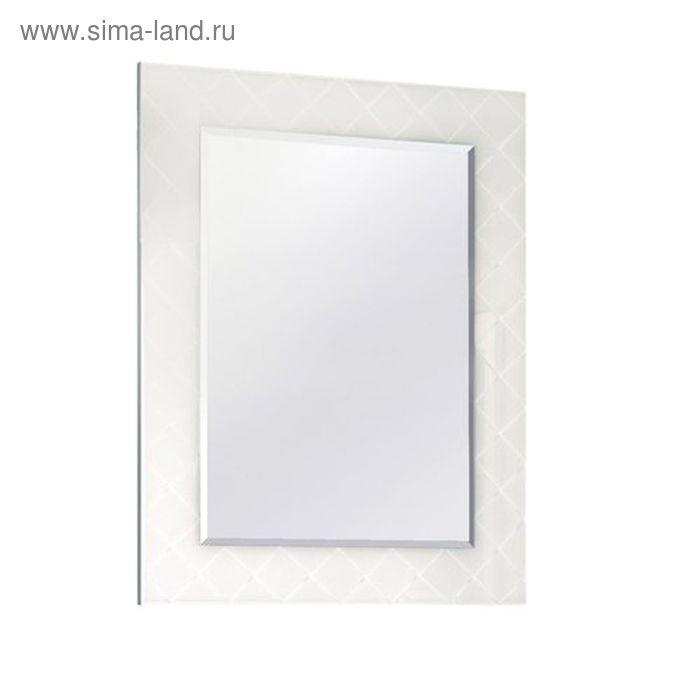 """Зеркало """"Венеция 75"""", белое, Акватон"""