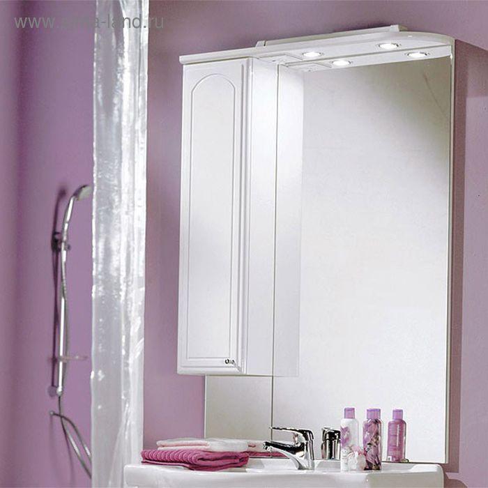 Зеркало со шкафом Акватон Майами 75 левое
