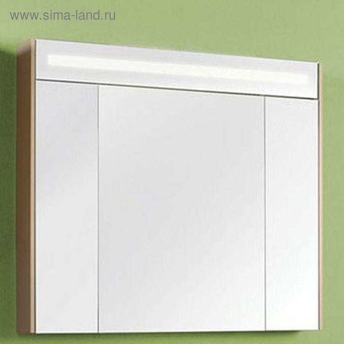 Зеркало-шкаф Акватон Блент 100 кремовый
