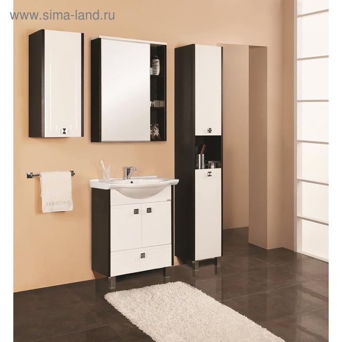 """Зеркало-шкаф """"Крит 60"""", цвет венге"""