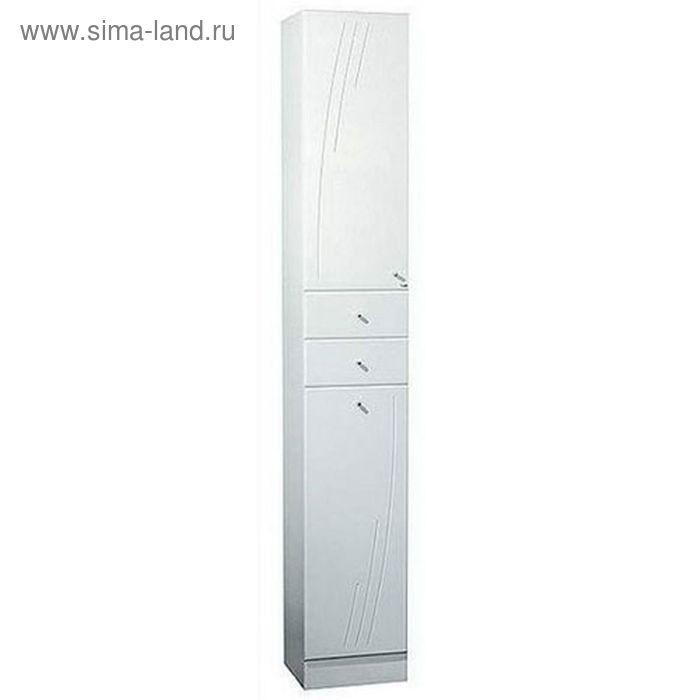 Шкаф-колонна Акватон Минима-М правый белый