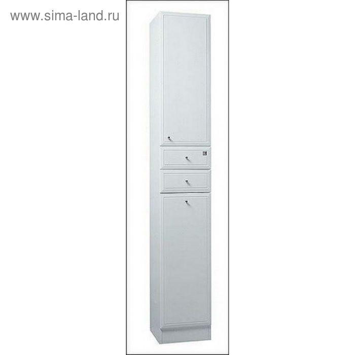 Шкаф-колонна Акватон Эмили-М с бельевой корзиной
