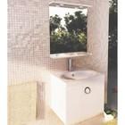 """Зеркало для ванной """"К-60"""" 68,5 х 60 х 14 см, белое"""