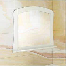 "Зеркало для ванной ""Венеция-80"" 74 х 80 х 14 см, белое"