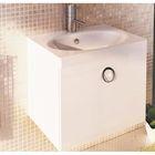 """Тумба-комплект Comforty """"Магнолия-60"""", подвесная, 50х60х45 см, с раковиной, цвет белый"""