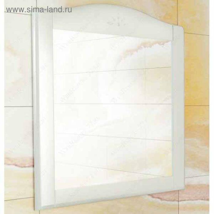 "Зеркало для ванной ""Монако-80"" 90 х 80 х 1,95 см, белое"