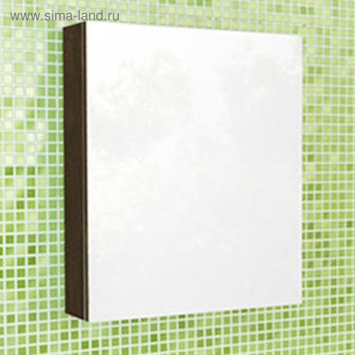 """Зеркало-шкаф для ванной """"Римини-60"""" 70 х 60 х 15 см, цвет венге"""
