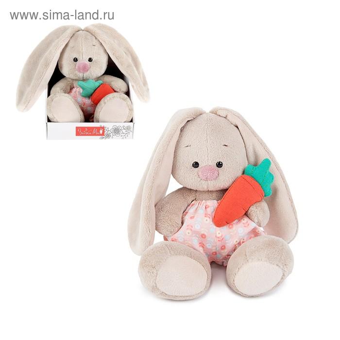 Мягкая игрушка «Зайка Ми в панталончиках и с морковкой»