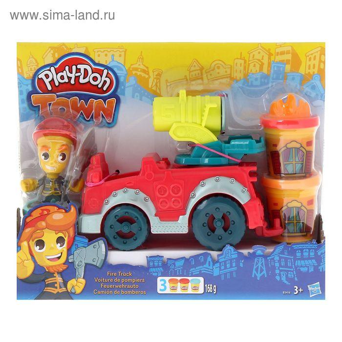 """Игровой набор для лепки """"Город. Пожарная машина"""""""