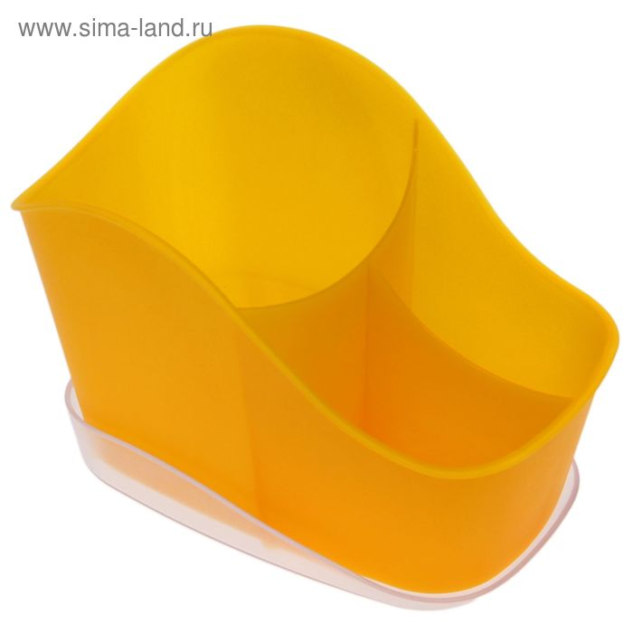 Сушилка для столовых приборов Teо, цвет лимон