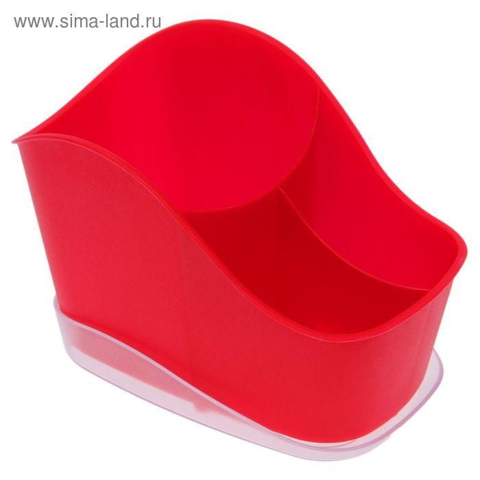 Сушилка для столовых приборов Teо, цвет сангрия