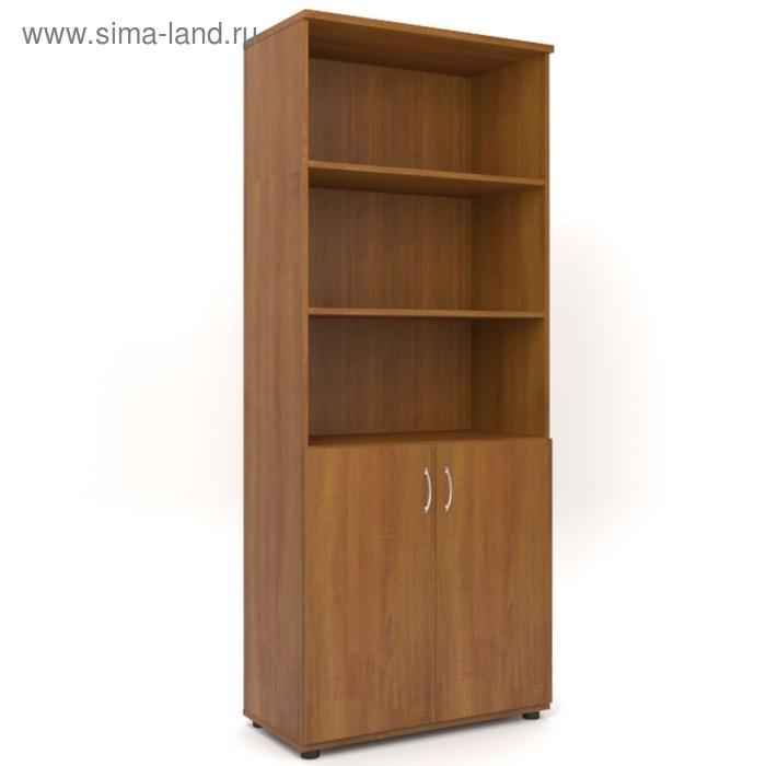 Шкаф для бумаг 798х418х1960 Орех
