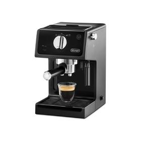 Кофеварка De Longhi ECP 3121, рожковая, 1100 Вт, 1.1 л, чёрная