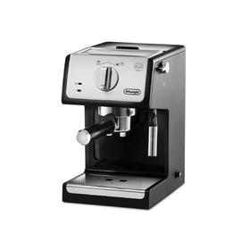 Кофеварка De Longhi ECP 3321, рожковая, 1100 Вт, 1.1 л, серебристо-чёрная