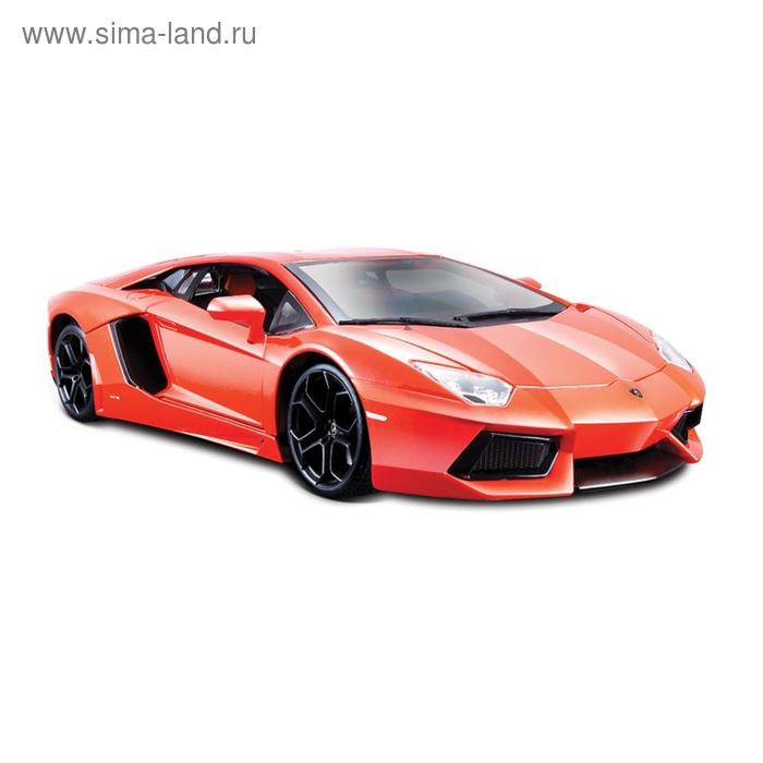 Коллекционная машинка Lamborghini Aventador LP700-4, масштаб 1:18, металлическая