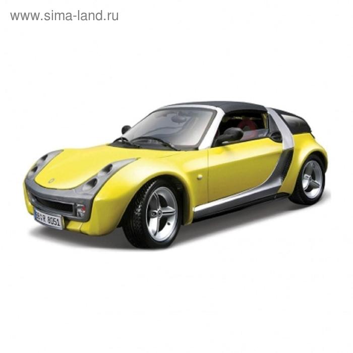 Коллекционная машинка Smart Roadster Coupe, масштаб 1:18, металлическая