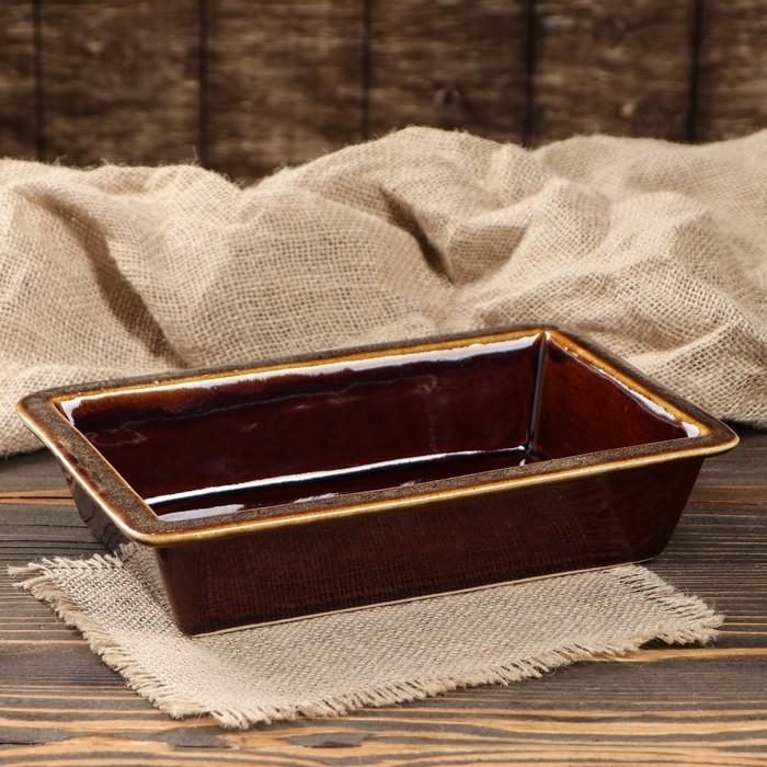 Противень для запекания малый, коричневый