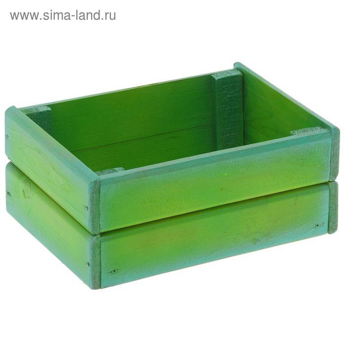 """Фигурное кашпо """"Декор для балкона №4"""" (зеленый)"""