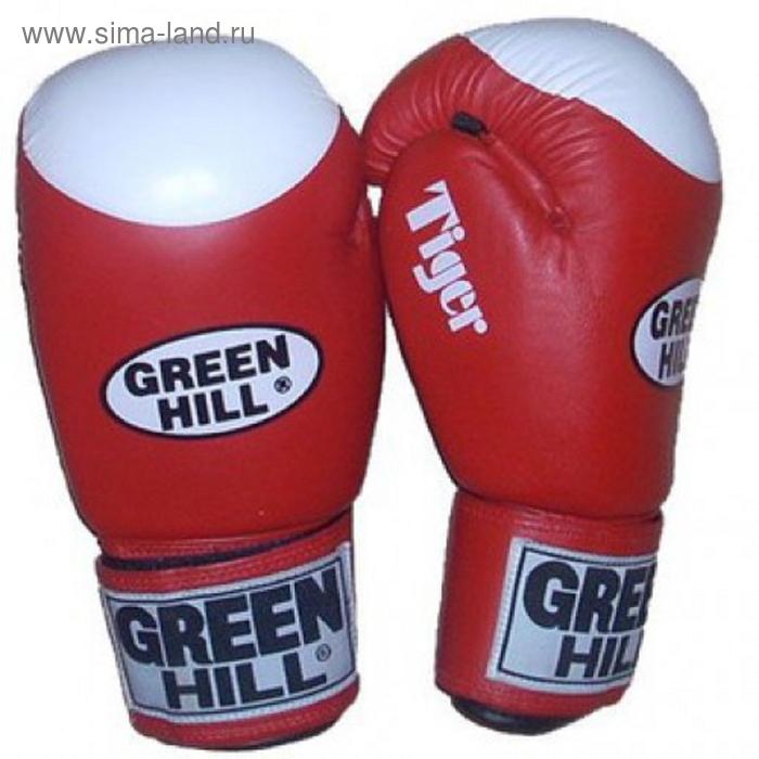 Боксерские перчатки BGT-2010b TIGER красный с таргетом 10oz