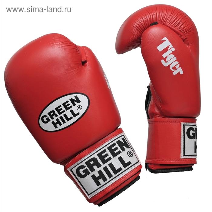 Боксерские перчатки BGT-2010с TIGER  красные 16oz
